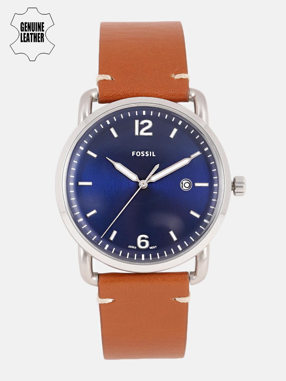 Fossil Men Blue Factory Serviced Analogue Watch